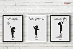plakaty do pokoju chłopca motywacyjne alovestudio blog Creative Area, Kids Room Paint, English Games, Kids Decor, Home Decor, Inspiration Wall, Diy Scrapbook, Man Humor, Kids And Parenting