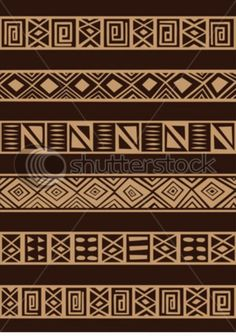 Illustration about Vector set including ethnic African stripe with geometrically typical elements. Illustration of rhombus, geometric, ethnic - 8047629 Arte Tribal, Tribal Art, Ethnic Design, African Design, African Textiles, African Fabric, Ankara Fabric, Ethnic Patterns, Textures Patterns