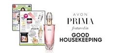 Avon Prima Eau De Parfum, the fresh floral fragrance that's bound to be a classic, was featured in Good Housekeeping Magazine! #AvonRep Shop online at www.youravon.com/pboswell