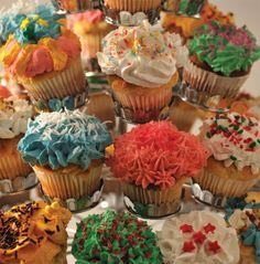 Cup cakes linaza y calabaza