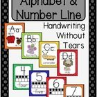 This product includes an alphabet line, and a number line 0-10 with ten frames.  I also included a number line that is a little bit bigger in case ...