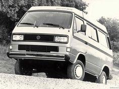 Volkswagen transporter westfalia t3 vanagon camper syncro 1987 1991