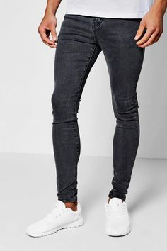 boohoo Spray On Skinny Jeans