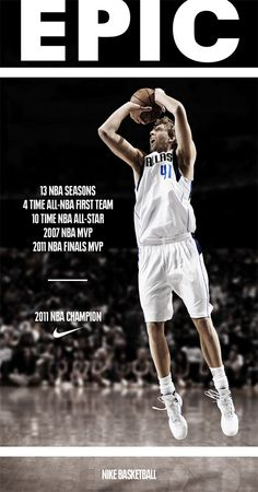There's only one Dirk Nowitzki !