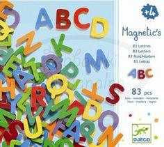 Djeco Literki magnetyczne 83szt