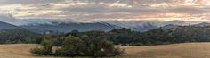 San Luis Obispo Sunset Panorama Santa Margarita, San Luis Obispo County, Central California, Mountains, Sunset, Nature, Travel, Naturaleza, Viajes