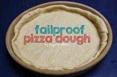 Fail-proof pizza dough recipe from Anyonita Nibbles