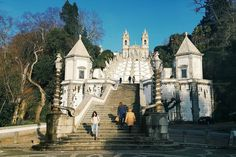 Bom Jesus do Monte, Braga, Portugal:)