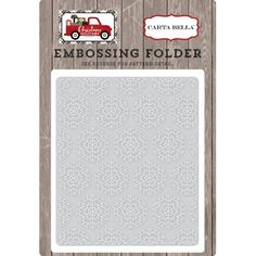 Perfect for card making, scrapbooking and home decor DIY projects. This package contains one x 5 inch embossing folder. Cheers, Christmas Delivery, Big Shot, Embossing Folder, Snowflakes, Card Making, Paper Crafts, Diy Projects, Pattern