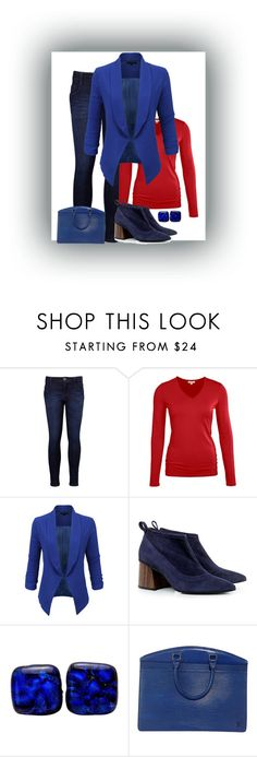 """""""Unbenannt #607"""" by stylecoach05 on Polyvore featuring Mode, Levi's, LE3NO, Eugenia Kim und Louis Vuitton"""