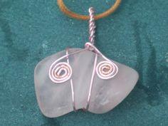 Custom Wrapped Rose Quartz Necklace