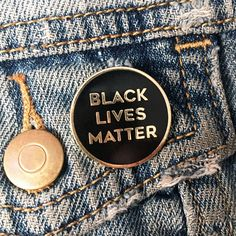 Image of black lives matter pin
