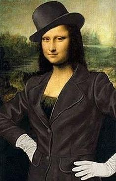 Mona Lisa: Puttin' on the Ritz