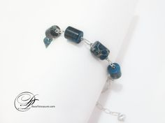 Beaded Jewelry, Beaded Bracelet, Handmade, Accessories, Hobby, Jewelry, Blue, Jasper