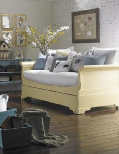 Sleigh Trundle Day Bed