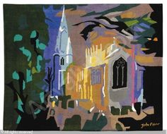 St. Mary's Church, Long Sutton, Lincolnshire by John Piper