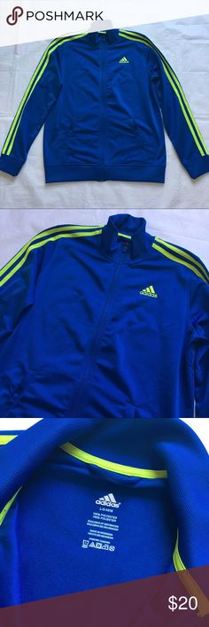 Adidas Zip-Up Sweater (unisex) Worn few times! Great condition!  No rips, no stains!  Unisex adidas Tops Sweatshirts & Hoodies