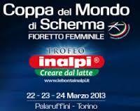 Coppa del mondo di scherma fioretto femminile a Torino