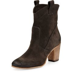 Alberto Fermani Chiara Slouchy Suede Ankle Boot