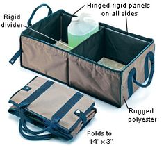Trunk Organizer/Storage Bin - Gardening at LeeValley.com
