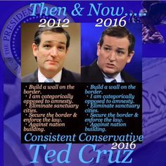 "Ted Cruz then and now.  ""Nation building"" - see http://dailycaller.com/2015/04/28/the-cruz-doctrine-ted-cruz-opens-up-about-his-foreign-policy-worldview/"