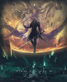 Final Fantasy Artwork, Final Fantasy Vii Remake, Fantasy Series, Video Game Characters, Fantasy Characters, Anime Characters, Manga Anime, Cg Artwork, Video Game Art