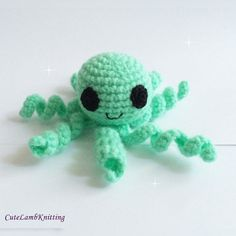 Crochet octopus pattern amigurumi Octopus toy by CuteLambKnitting