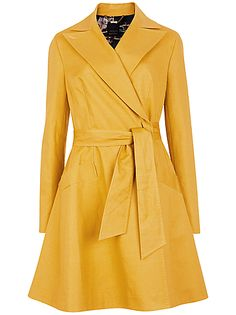 Ted Baker Tunda Flared Skirt Coat. Love the shape, and quite like the colour too. Pricey though...