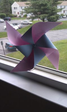 Day 1 - June 1, 2012 - pinwheel  to catch the breeze on this beautiful day
