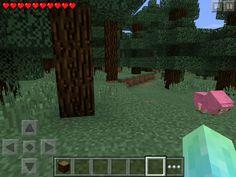 OMG i found a pink sheep in minecraft PE version 0.11.1