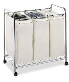 This is nothing glamorous, and I wish it could be more fun...but this is definitely a practical laundry sorter!