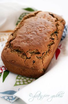Gluten Free Carrot Bread with Chai Spices my-favorite-spring-recipes