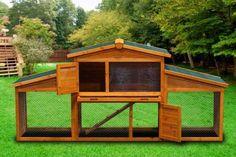 New-86x40x22-Wooden-Chicken-Coop-Nesting-Box-Hen-House-Chick-Rabbit-Hutch-WC02