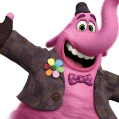 Riley's imaginary friend Bing Bong, voiced by Richard Kind, is Pixar's sweet surprise in 'Inside Out.'