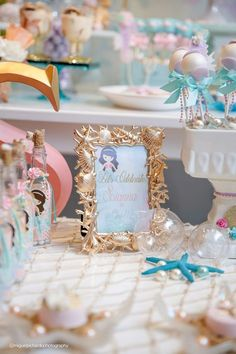 Pastel Mermaid Birthday Party via Kara's Party Ideas | KarasPartyIdeas.com (45)