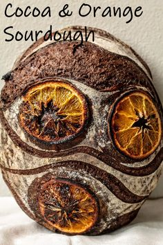 A sourdough bread with a deep cocoa flavor, scented with Orange zest!....#sourdough #bread #sourdoughbread #wildyeast #naturalyeast #baking #cocoa #orange #jaffa Rye Bread Recipes, Sourdough Recipes, Sourdough Bread, Yeast Bread, Savoury Baking, Bread Baking, Bread Food, Artisan Boulanger, Bread Art