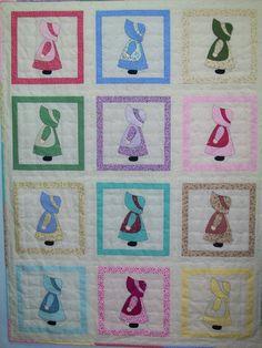 Sunbonnet Sue Quilt | by Cotton Top Quilts