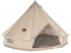 Amazon.com  DANCHEL 4M Cotton Bell Tent with Two Stove Jackets (Top and  sc 1 st  Pinterest & How to Make a Bell Tent | DIY Projects | The Trolley Llama | Diy ...