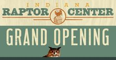 Indiana Raptor Center website grand opening! They do amazing work with birds, and the redesign by David & Jennie Orr is lovely.