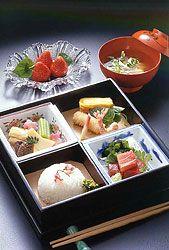 Bento Gallery - Japanese Box Lunches - Virtual Culture - Kids Web Japan - Web Japan