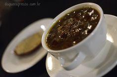 Sopa de cebola e torrada com queijo - Kalma Restó (Ushuaia - AR)