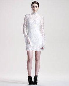 "Check out ""B1XSR Dolce & Gabbana Trumpet-Sleeve Lace Dress neimanmarcus.com"" decalz @lockerz.com"