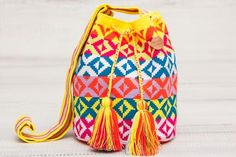 Wayuu Mochila Bag // Salpicon Bag / brandnative