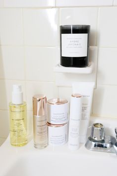 beauty resolutions bareminerals skincare line  Serum and oil cleanser