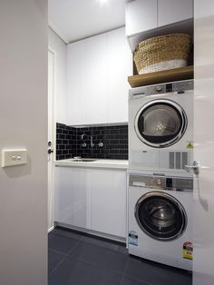Bathroom Plans with Washer Dryer Awesome Small Bathroom Laundry Room Bo Ideas Laundry Bathroom Combo, Laundry Room Bathroom, Small Laundry Rooms, Laundry Room Organization, Small Bathroom, Vintage Laundry Rooms, Bathroom Plans, Laundry Area, Laundry Closet