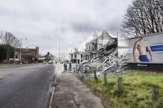 Blitz Ghost – Dereham Road/Heigham Road Ghost Images, Norwich Norfolk, Gas Lights, Uk Photos, Charity Event, Ww2, Past, Villa, Simple