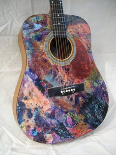 Solid GreatSounding Acoustic Art Guitar with by LucidDreamers