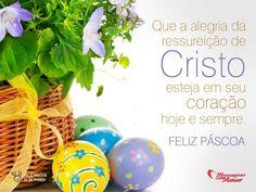 """""""Que a alegria da ressurreição de cristo esteja em seu coração hoje e sempre. Feliz páscoa."""" #Pascoa #FelizPascoa"""