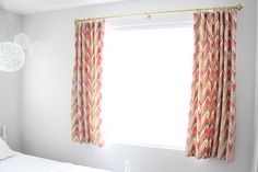 drapes w/ pinhooks