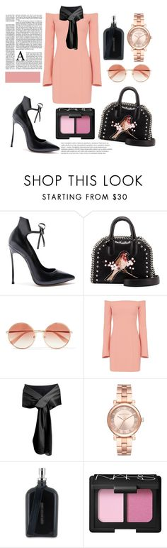 """Untitled #206"" by coffeegirl233 ❤ liked on Polyvore featuring Casadei, STELLA McCARTNEY, Dolce&Gabbana, Cinq à Sept, Michael Kors, Boris Bidjan Saberi and NARS Cosmetics"
